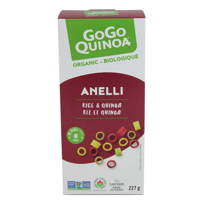 Product picture- Rice and quinoa anelli