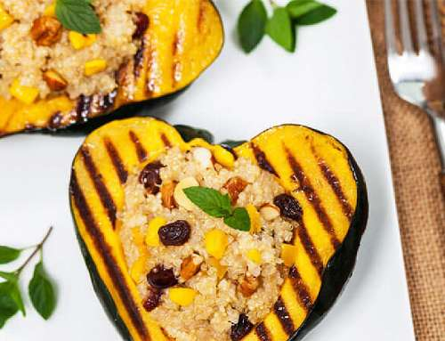 Quick and Easy Meals: Vibrant Acorn Squash with Quinoa