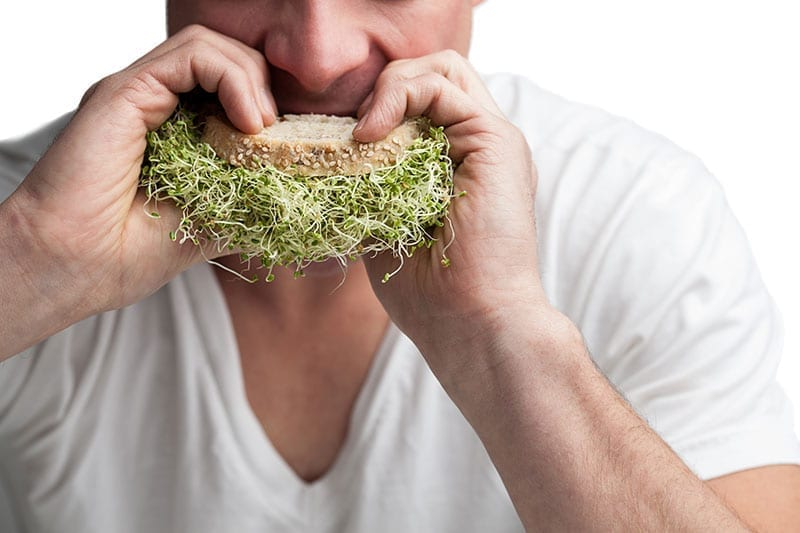 In fact, the simple process of sprouting brings out many enzymes in  germinated seeds, legumes, and grains, making them easier to digest.