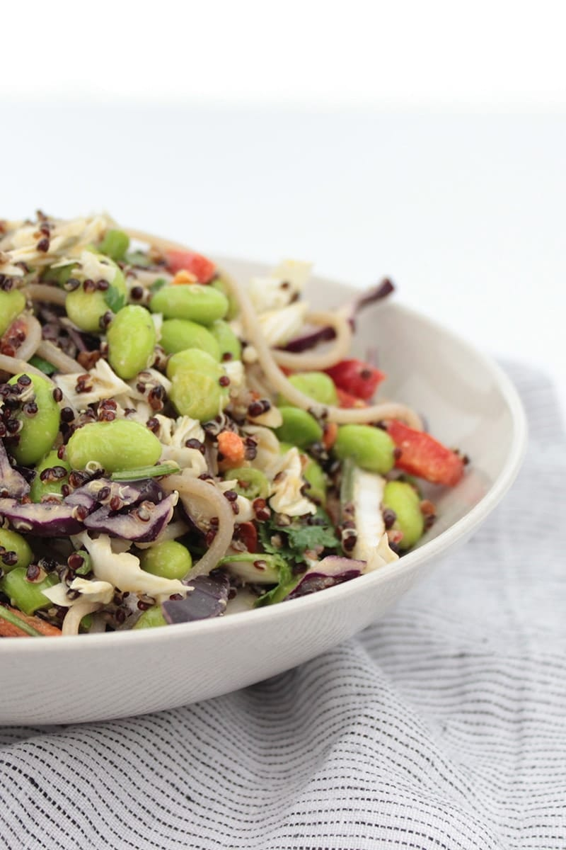 quinoa thai salad recipe