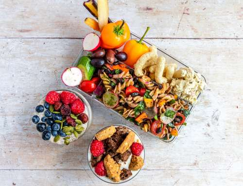 Smart plant-based lunch box
